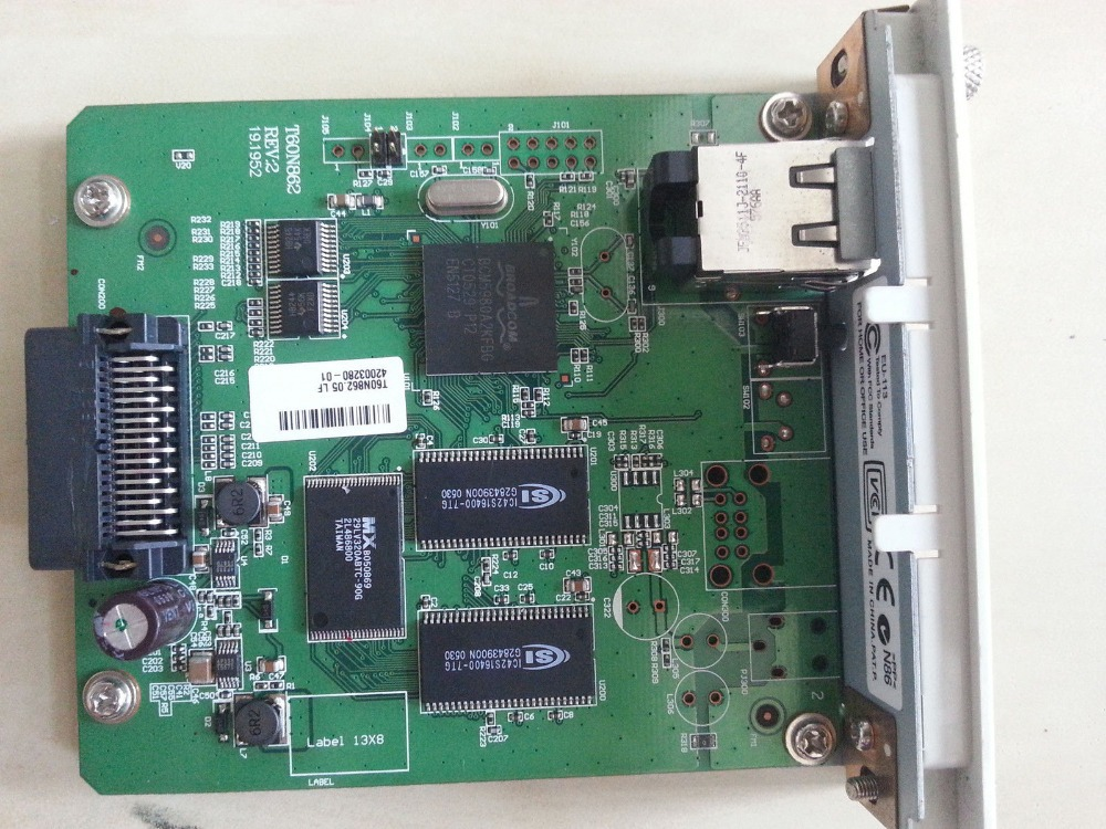 NETWORK CARD FOR EPSON PRINTERS PART NUMBER T60N862