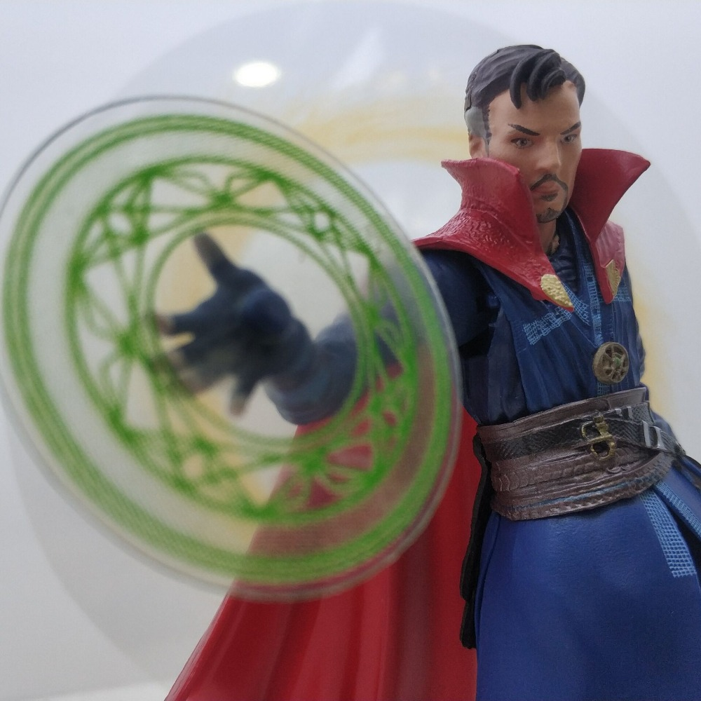 Marvel Legends Avengers Endgame Super Hero Doctor Strange Action Figure Toy LED