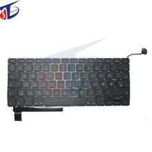 "Original A1286 Denmark DK Keyboard For Apple Macbook Pro 15"" Denmark Keyboard Without Backlight Replacement 2009-2012year"