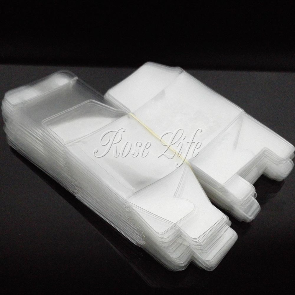 100Pieces/lot Clear Square Wedding Favor Gift Box Transparent Party ...