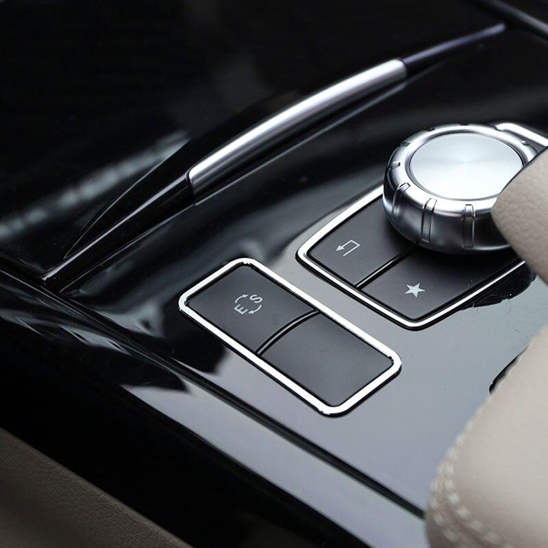2014 Clase E 2008 de aleaci/ón de aluminio Cubierta de aluminio para ajuste de faros delanteros 2015 GLK//GL//ML//CLS accesorios para una clase B Clase C 2008