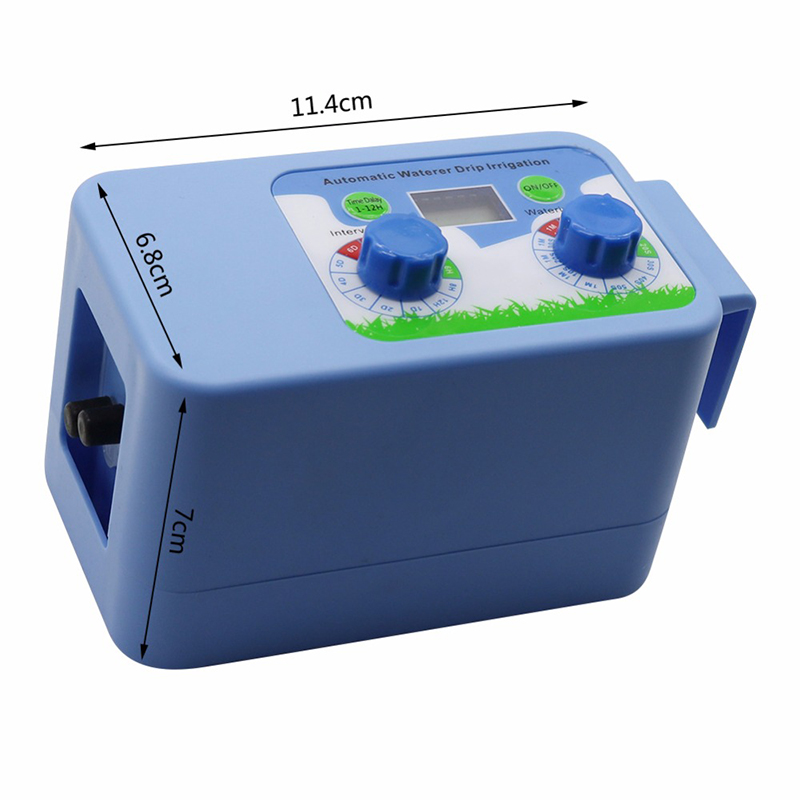 Automatic Electronic LED Display Irrigation Set Plant Watering Timer Electronic Controller Garden Water Timer Home Office 1 Set