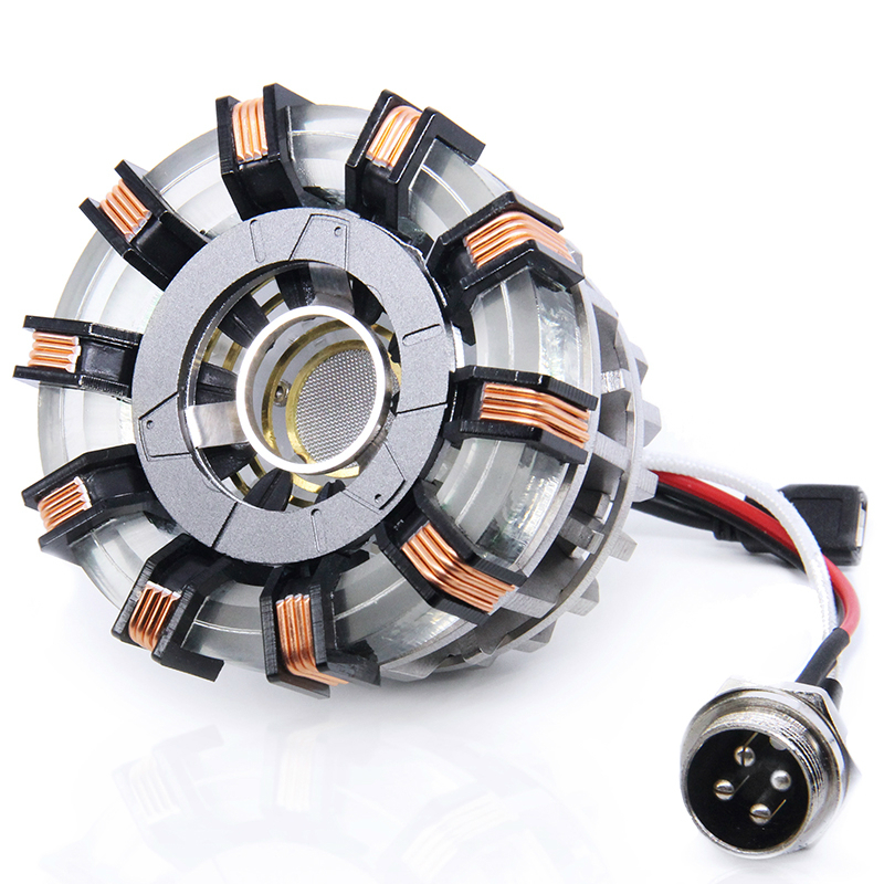 Avengers 1:1 scale Iron Man Arc Reactor Core Heart Model MARK 2 with LED Light Figure Boyfriend Gift Parts Need to Assemble DIYAvengers 1:1 scale Iron Man Arc Reactor Core Heart Model MARK 2 with LED Light Figure Boyfriend Gift Parts Need to Assemble DIY