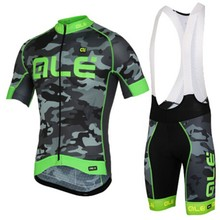 2017 ALE Brand Summer Cycling Jersey Bib Short Sleeve Bike Bicycle Sportswear Mtb Men's Cycling Clothing
