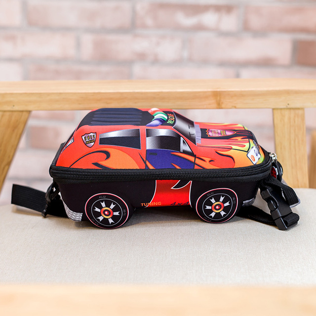 3D Car Children School Bags For Kids