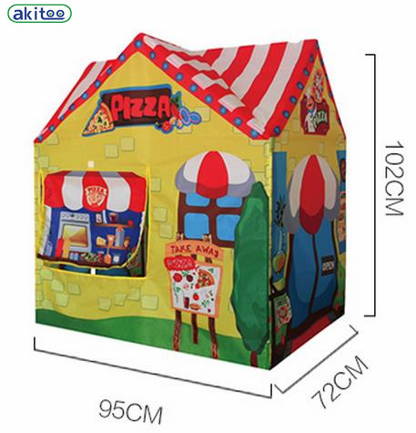 New arrival akitoo Children kid Tent Game Pizza House Indoor Play Toy Baby Princess Korean style Outdoor Super Size House gift-in Toy Tents from Toys ...  sc 1 st  AliExpress.com & New arrival akitoo Children kid Tent Game Pizza House Indoor Play ...