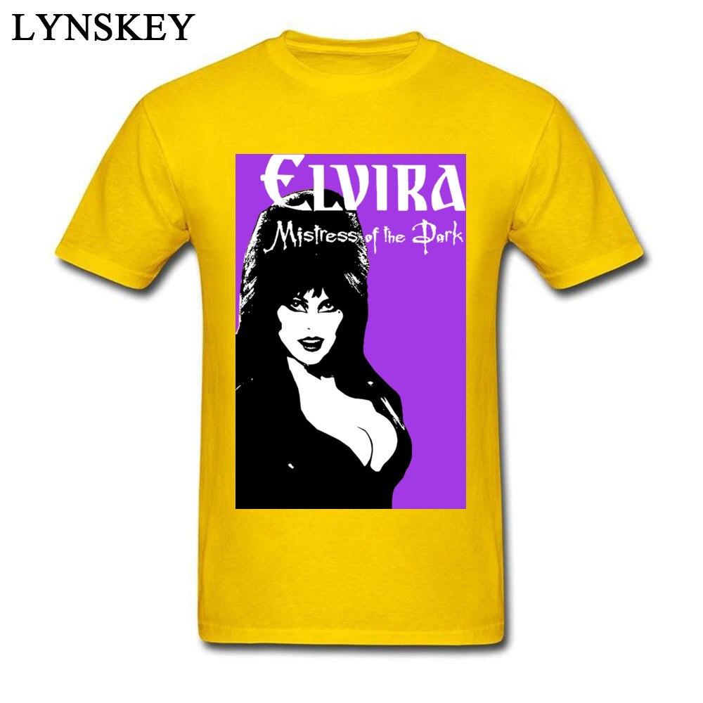 Pop Art Elvira Pin Up T-Shirt Men Sex Sexy Women 2018 Fashion Brand Clothing Fitness Plus Size White Pink Cool T Shirt Love