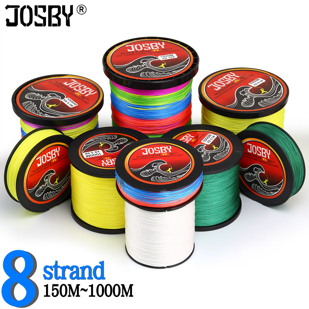 Fishing Line 150M 300M 500M 1000M 8-Strand 100% Pe Multifilamento Braided Fishing Line Carp Fishing Line Fly Fishing Line Pesca