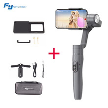 Feiyu Vimble 2 Extendable Handheld 3-Axis Travel Gimbal Stabilizer for iPhone X 8 Plus 7 6 SE Samsung Galaxy S9+ S9 S8+ + Plate