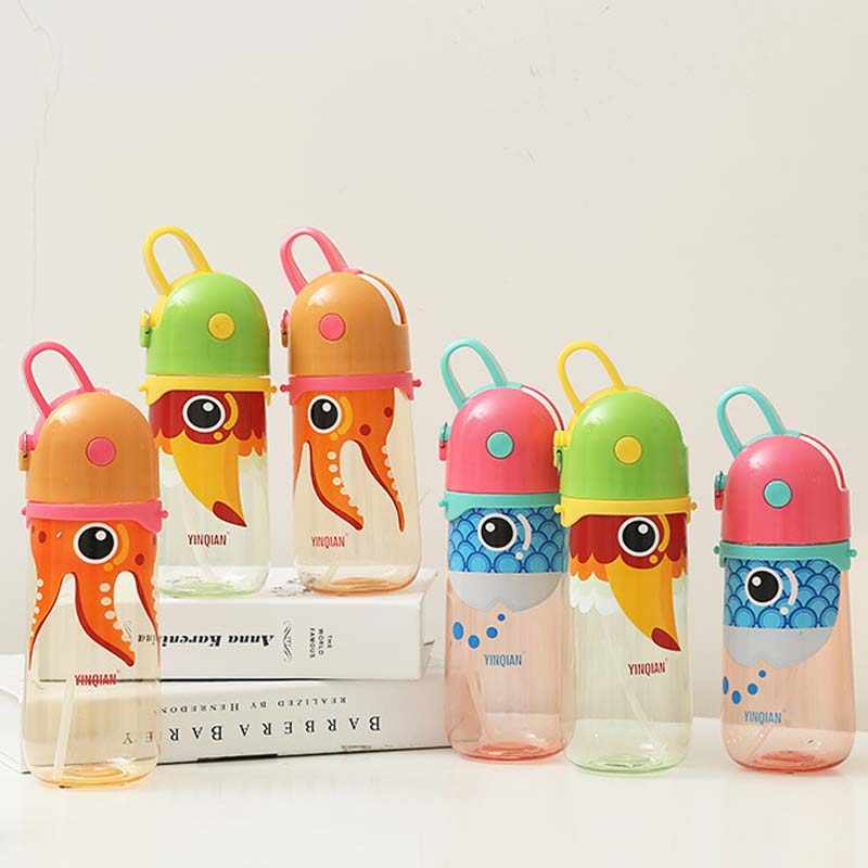 Cute Baby Bottle Kids Children Learn Feeding Drinking Water Straw Handle Bottle Mamadeira Sippy Training Cup Baby Feeding Bottle Feeding Bottle Baby Feeding Bottlebaby Bottle Aliexpress