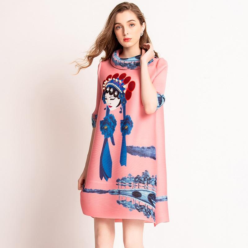 Robes de visage d'opéra de pékin numérique 2019 nouvelle robe plissée de couronne de Phoenix de perle
