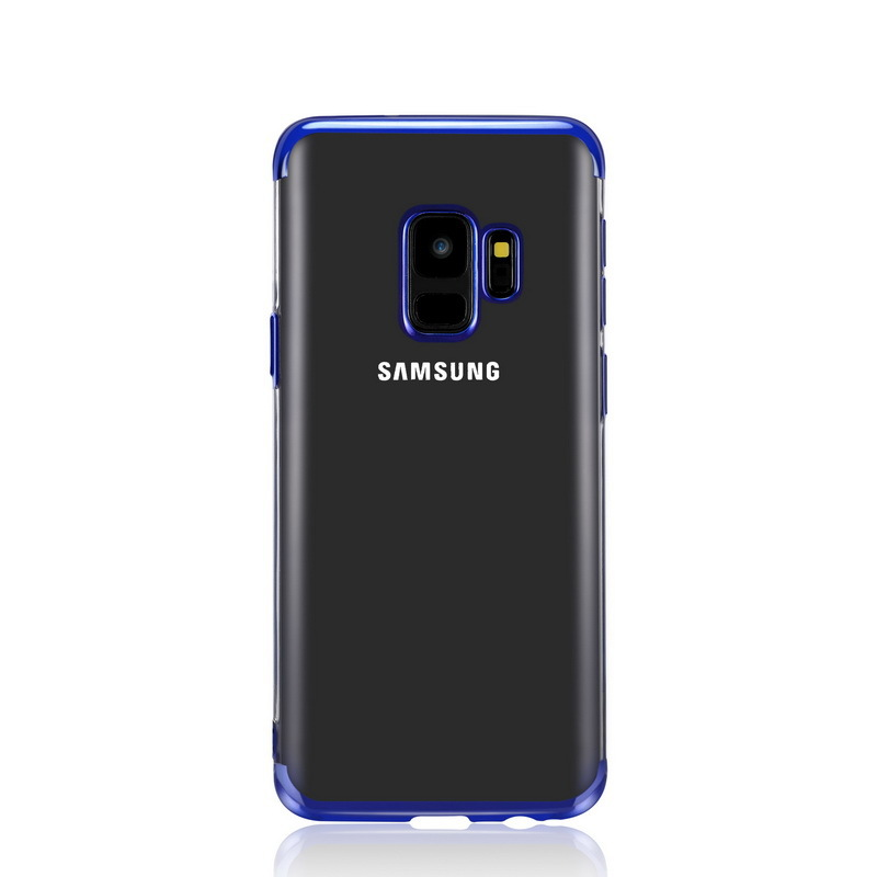 J2Pro Elec-plating TPU Case 2 in 1 for Samsung Galaxy <font><b>J2</b></font> J 2 Pro 2018 Case 5.0'' Transparent Soft Cover for Galaxy J250f <font><b>Capinha</b></font> image