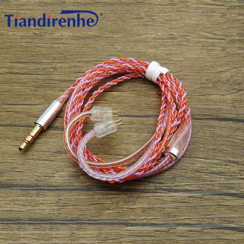 0.78mm 2 pin DIY Cable for Logitech UE TF10 TF15 5pro SF3 Earphones Upgraded Replacement Silver Plated Cables for iphone xiaomi