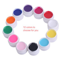 Special 5ML 12 Colors Set Women Nail Beauty Art UV Gel Charming Lady Nail Polish Gel