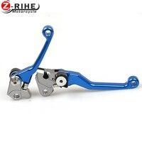 2x CNC Pivot Clutch Brake Levers For Suzuki RM RMZ 125 250 450 250SB DRZ 400S