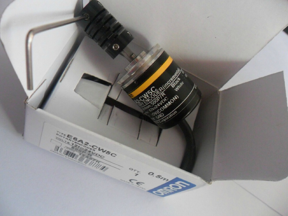 E6A2-CWZ3C 500P/R encoder, E6A2-CWZ3C encoder, Diameter 25 mm series e6a2 cs5c 50p r rotary encoder new e6a2cs5c 50p r 50pr compact size e6a2 cs5c