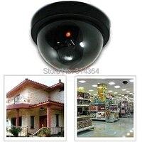 Fake Dummy Dome Camera Security Camera Surveillance Blinking LED CCTV Flash Fake CCTV Cam Indoor Outdoor
