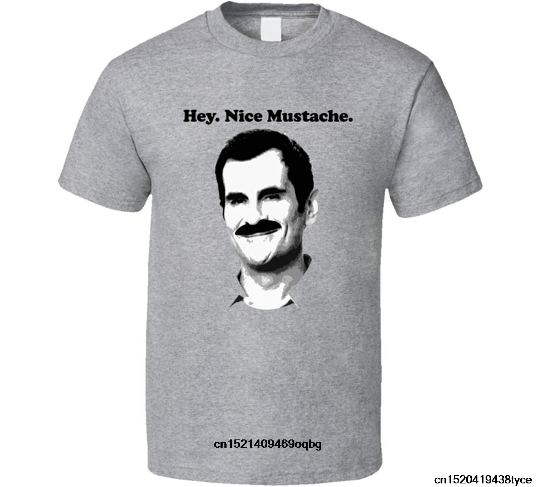 modern mustache nice tv shirt