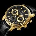 Cadisen Novos homens da Moda relógios Homens Top De Luxo Da Marca Big Dial Designer Relógio de Quartzo relógio de Pulso Masculino Relogio masculino Relojes