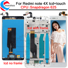 For Xiaomi Redmi Note 4X Note 4 Global Version LCD Display touch screen digitizer with frame For Redmi Note 4X  Snapdragon 625