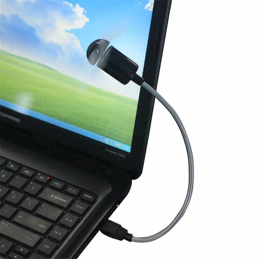 E5 Новый гибкий USB мини охлаждающий вентилятор кулер для ноутбука Настольный ПК компьютер новый jun15