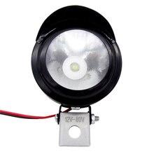 купить 2Pcs Motorcycle Accessories Bike Car Truck 12V-80V 3W LED Spotlight ATV Scooter LED Driving Fog Spot Head Light Lamp Universal дешево