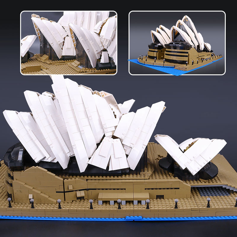 2016 LEPIN 17003 Creator Sydney Opera House Model Building Kits Blocks Bricks Toys 2989pcs kehlani sydney