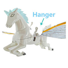 New Arrival Hot Sale Electronic Interactive Kids Toys Rotating 360 Degree Flying Horse With Light And Sound Interesting Gifts(China)