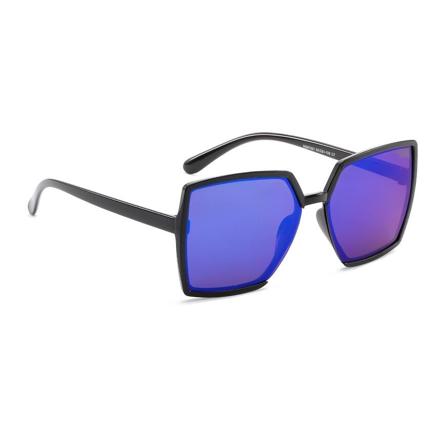 Personality gradient Sunglasses Women Oversized UV400