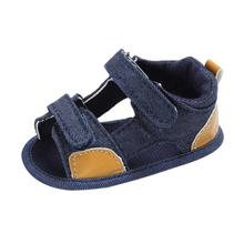 TELOTUNY 2020 Summer Baby Boys shoes Toddler Canvas Infant K