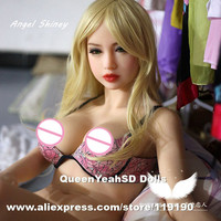 158cm Top quality full silicone sex doll, realdoll, chinese love dolls can have oral vagina anal sex, sex toys