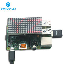 Best Buy SunFounder LED Dot Matrix Screen for Raspberry Pi Model B/B+ and Rapsberry Pi 2 Not included Raspberry Pi