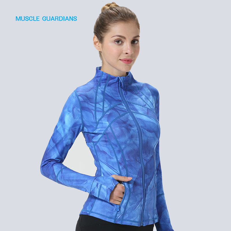 Womens Thumb Jackets 2018 New Long Sleeve Running Coat Yoga Gym Fitness Tight Tops Quick-Dry Breathable Sports Jacket WomenWomens Thumb Jackets 2018 New Long Sleeve Running Coat Yoga Gym Fitness Tight Tops Quick-Dry Breathable Sports Jacket Women