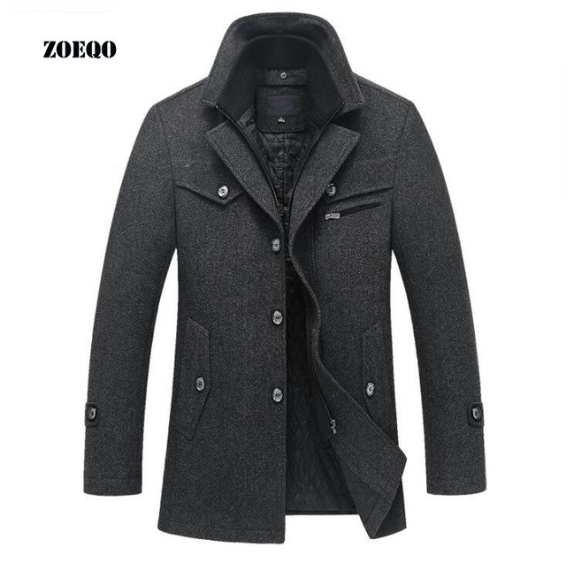 Men's Wool Coat For Winter
