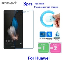 Nano Protective Film For Huawei P10 Lite P9 Plus P7 P8 P9 Lite 2017 (Not Glass) LCD Screen Protector Protection Film Foil Guard
