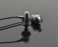 Silver bullet in-ear earphone 3.5mm wired metal subwoofer stereo earphones with microphone for HUAWEI P30 jack
