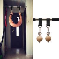 Home Gym Workout Pull Up Ball Wrist Balls Solid Wooden Fitness Equipment for Finger Force Arm Strength Rock Climbing Exercise
