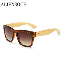 Hot Italy Brand Designer Wood Sunglasses Women Men Big Bamboo Frame Rivet Cat Eye Sun Glasses Male Female Hand Made Shop Online