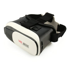 Google cardboard VR BOX II 2.0 Version VR Virtual Reality 3D Glasses For 3.5 – 6.0 inch Smartphone for iphone for samsung
