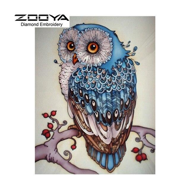 Aliexpress Com Buy 5d Diy Diamond Painting Owl Crystal