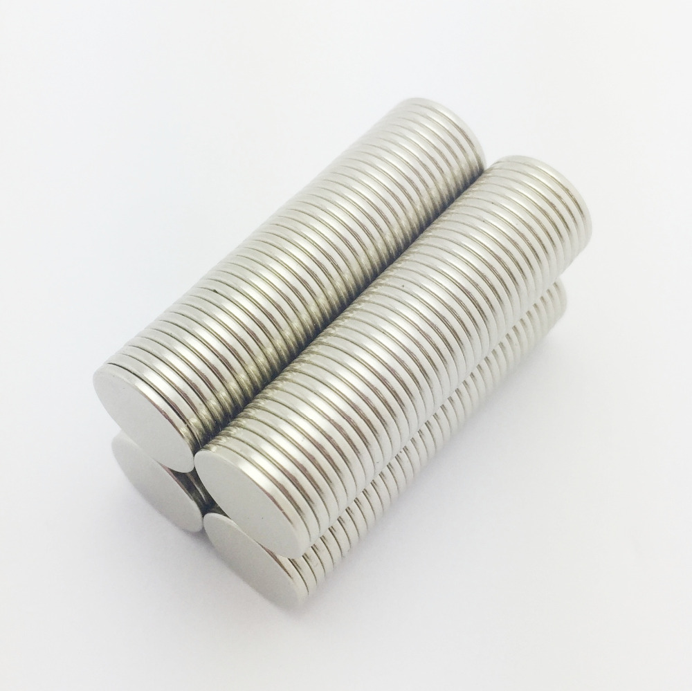 50pcs Magnets 3 x 1mm Super Strong Cylinder Round Disc Rare Earth Neodymium N52