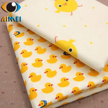 Small yellow duck small yellow chicken twill children cartoon bedding fabrics baby clothes home cloth cloth