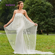 Real Photo Sexy Mermaid Wedding Dress Strapless 2019New