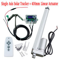 Sunlight Solar Tracker System 16'' Single Axis Complete Kit for Solar System