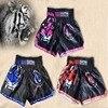 Tiger Muay Thai Boxing Match Sanda Training Breathable Shorts Muay Thai Clothing Boxing Shorts Thai Boxing