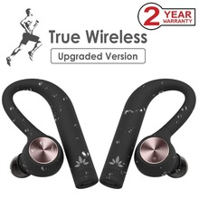 купить Avantree IPX5 Sweatproof TWS Wireless Earbuds, True Wireless Stereo Bluetooth 4.2 headphones Cordless Earphones with Mic дешево