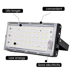 Светодиодный прожектор 50 Вт Водонепроницаемый IP65 наружный светодиодный Отражатель свет садовая Лампа AC 220V 240V прожектор уличное освещение