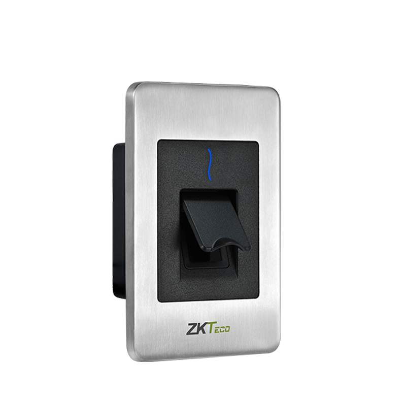 Top Quality Biometric Reader FR1500WP RS485 Reader compatible for ZKTeco Inbio Board ZKTeco F18 metal Stainless Steel Reader-in Fingerprint Recognition Device from Security & Protection