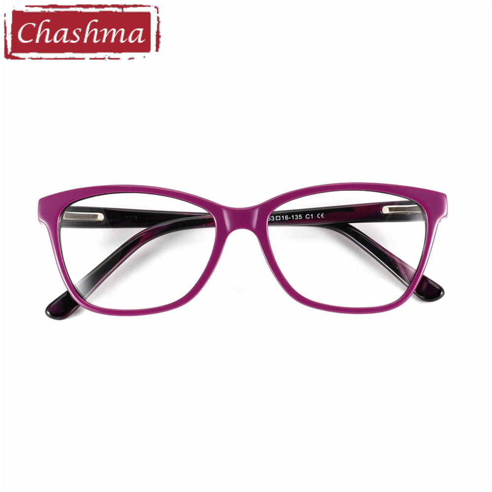 70d834199f Chashma Brand Acetate Material Female Eyewear Fashion Trend Stylish  Students Prescription Glasses Frame Mens Optical Eye Glasses-in Eyewear  Frames from ...