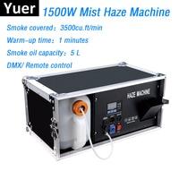 1500 Вт туман машина 5L туман машина DMX512/Remote Управление дым машина Dj/бар/вечерние Stage свет светодиодный этапе фоггер